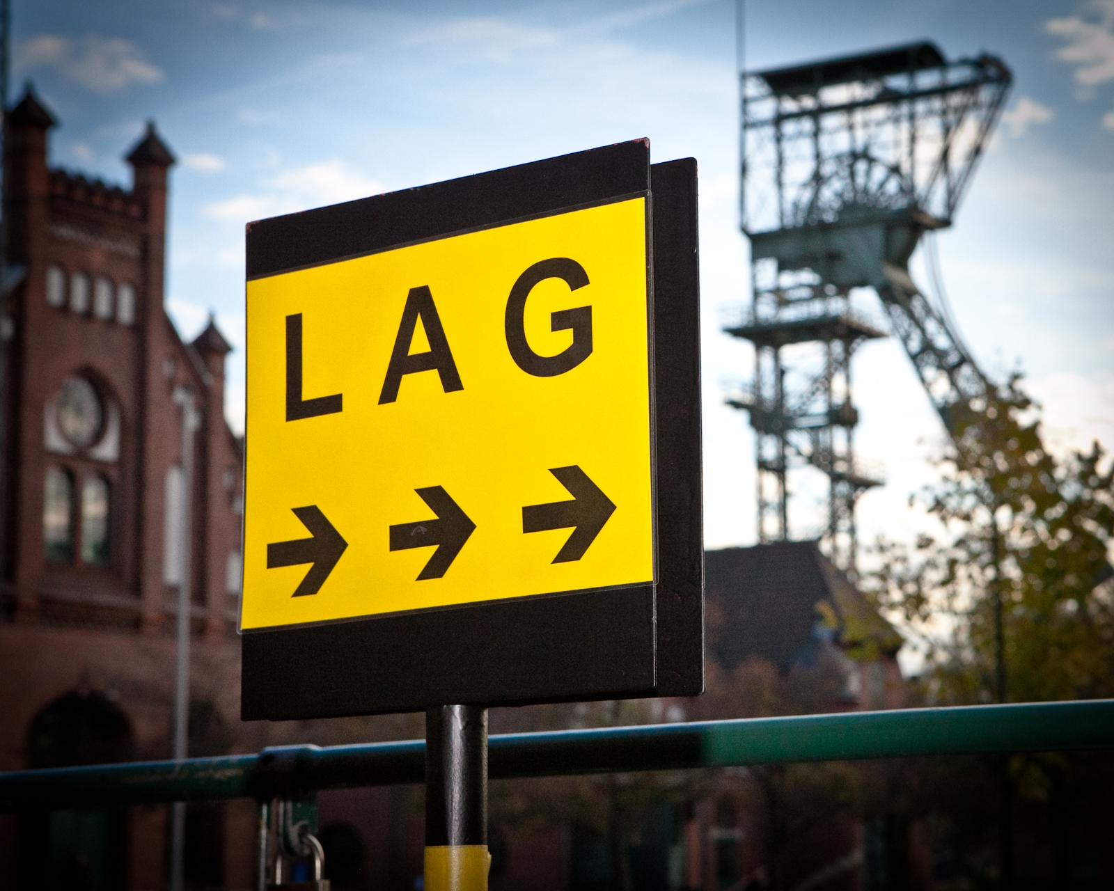 LAG NRW Schild