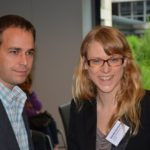 Marcus Windisch vom ZPE und Daniela Eschkotte von der LAG.