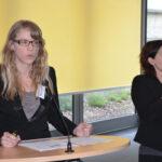Daniela Eschkotte von der LAG stellt erste Ergebnisse einer Analyse von Beiratssatzungen vor.