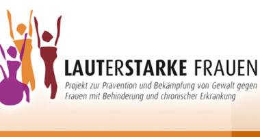 "Logo des Projektes ""Lauterstarke Frauen""."