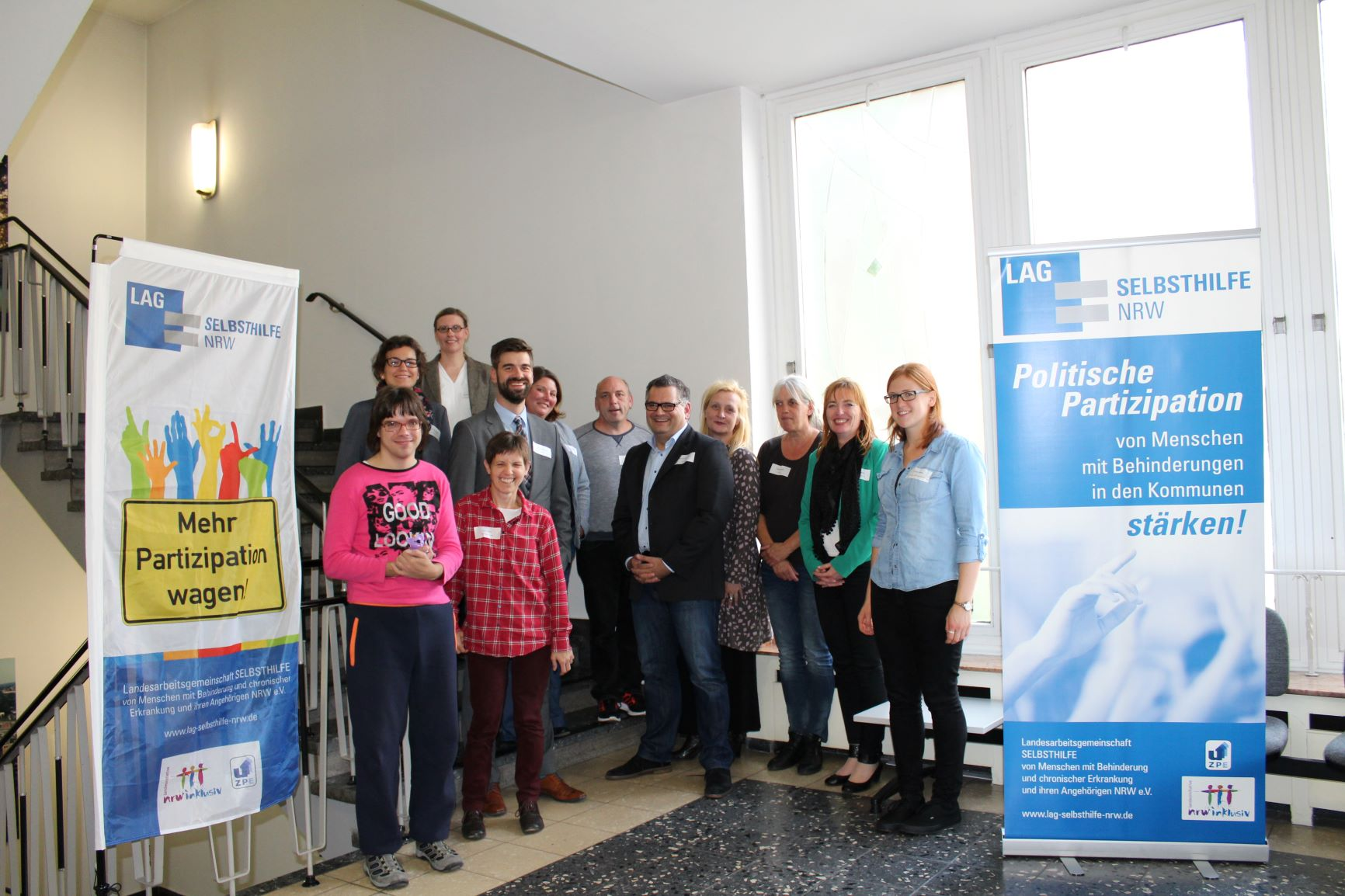 Teilnehmer*innen des Workshops in Oberhausen