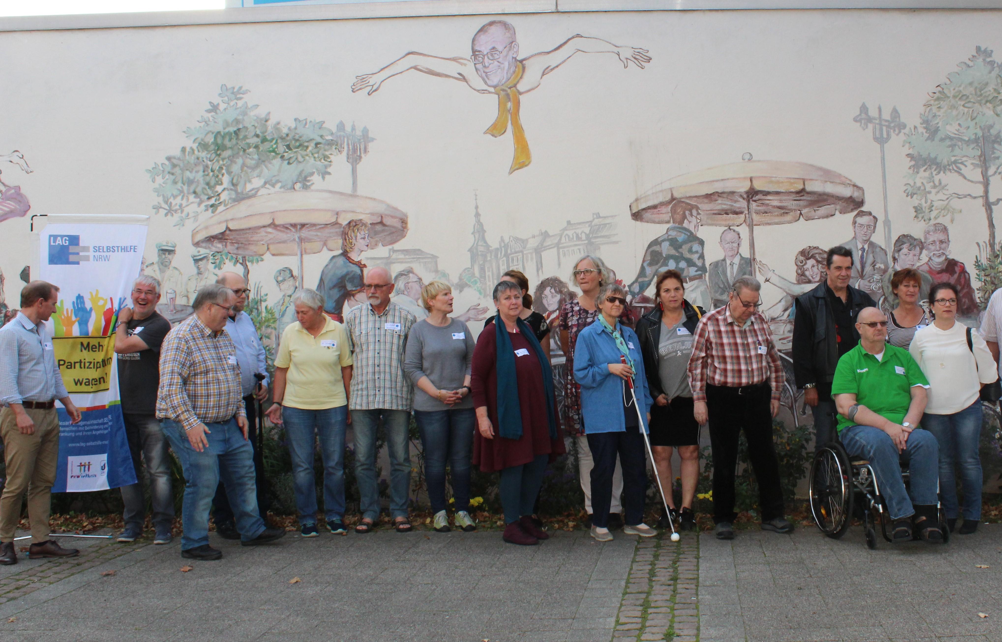Teilnehmer*innen des Workshops in Wuppertal