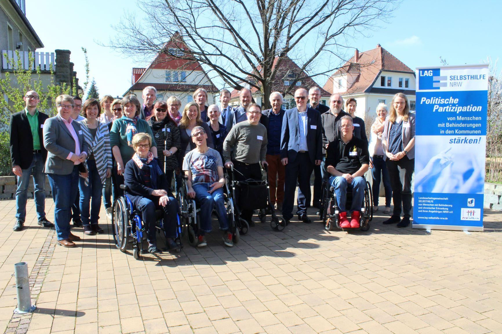 Teilnehmer*innen des Workshops im Kreis Soest