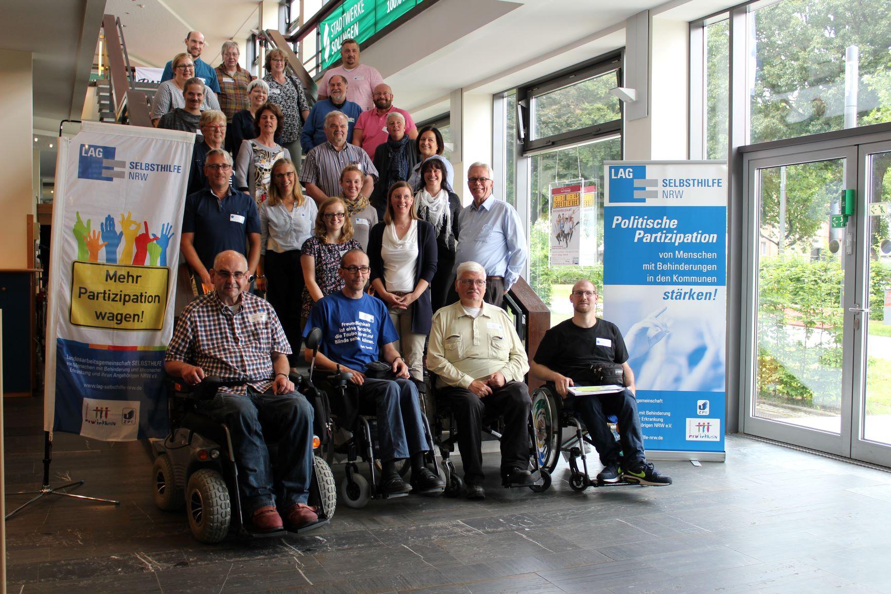 Die Teilnehmer*innen des Workshops in Solingen