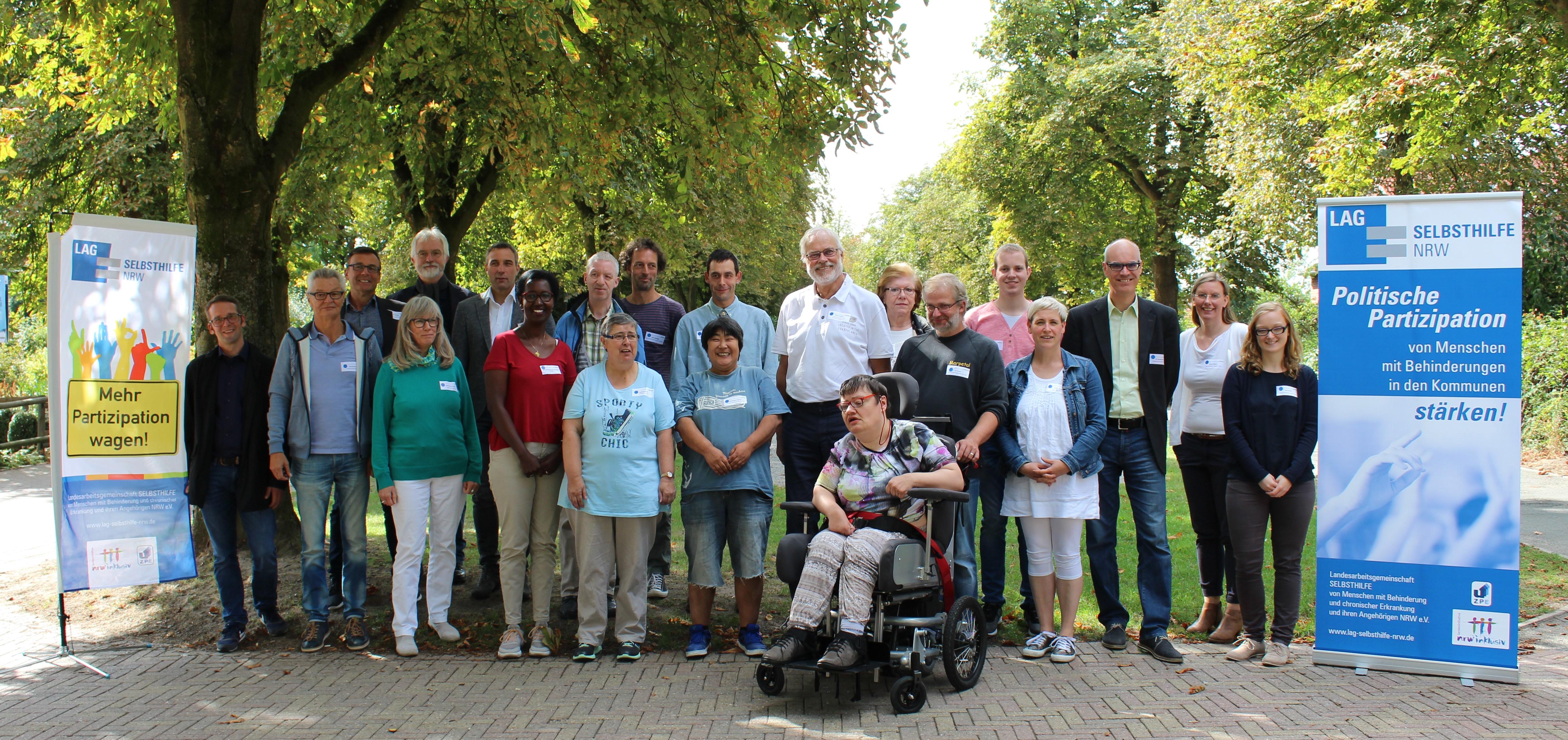 Die Teilnehmer*innen des Workshops in Lemgo