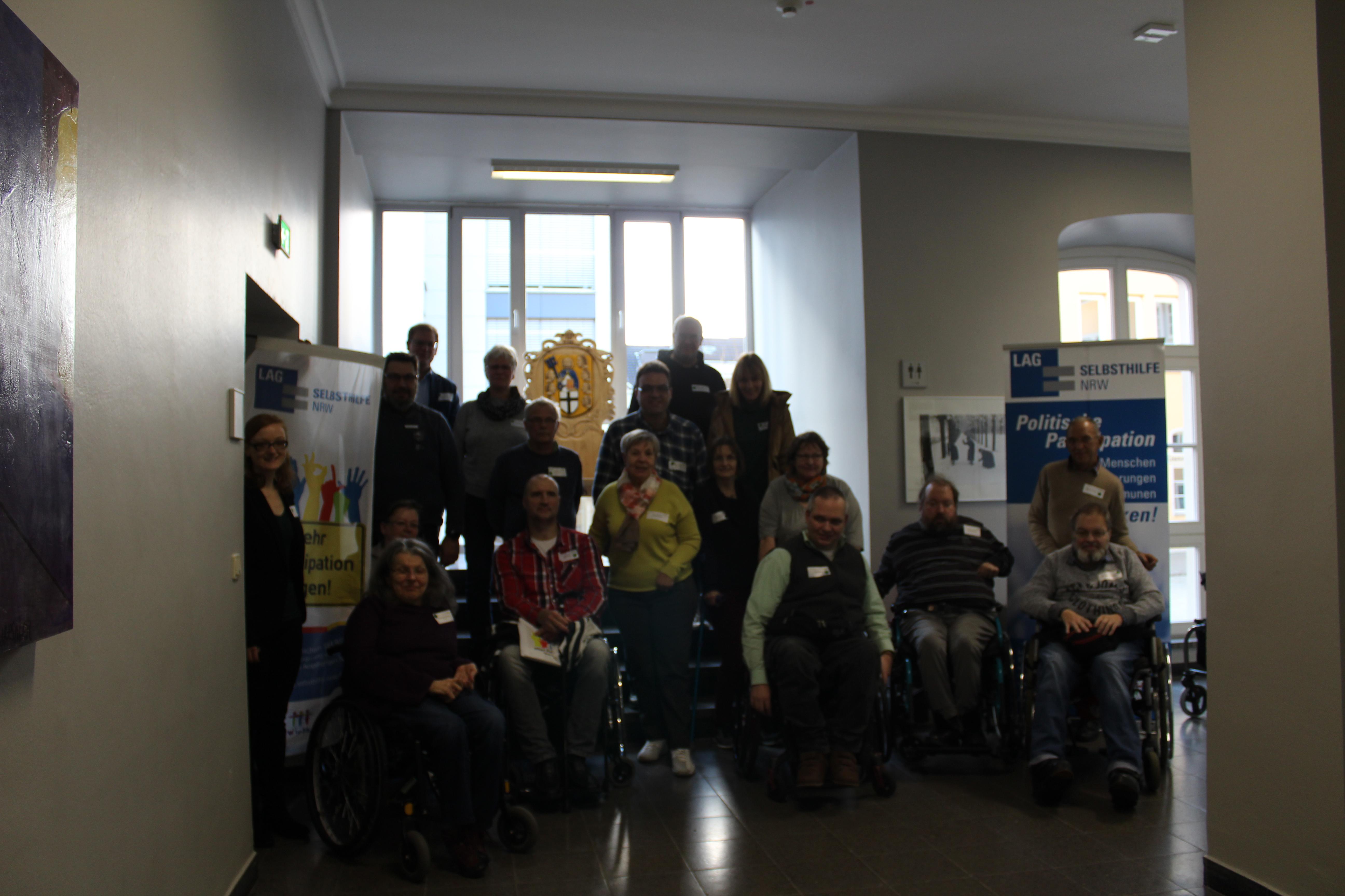 Teilnehmer*innen des Workshops in Brühl