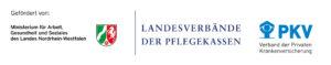 Logo MAGS und Landesverbände der Pflegekassen