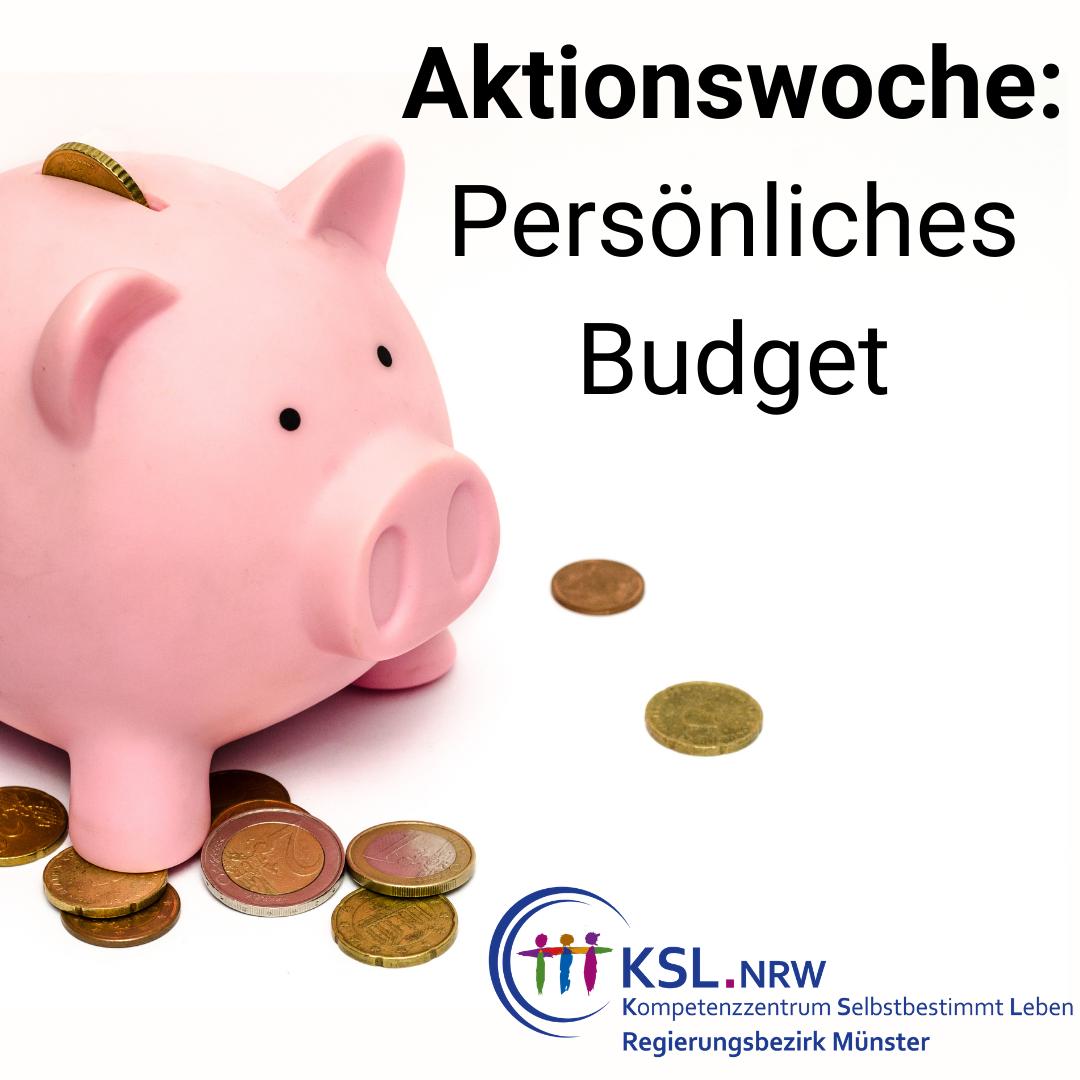 Aktionswoche Persönliches Budget