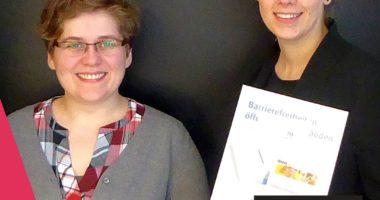 Im Gespräch Virginia Grossek und Daria Frank von der Agentur Barrierefrei NRW