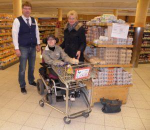 Einkaufwagen für Rollstuhlfahrer in Ennigerloh