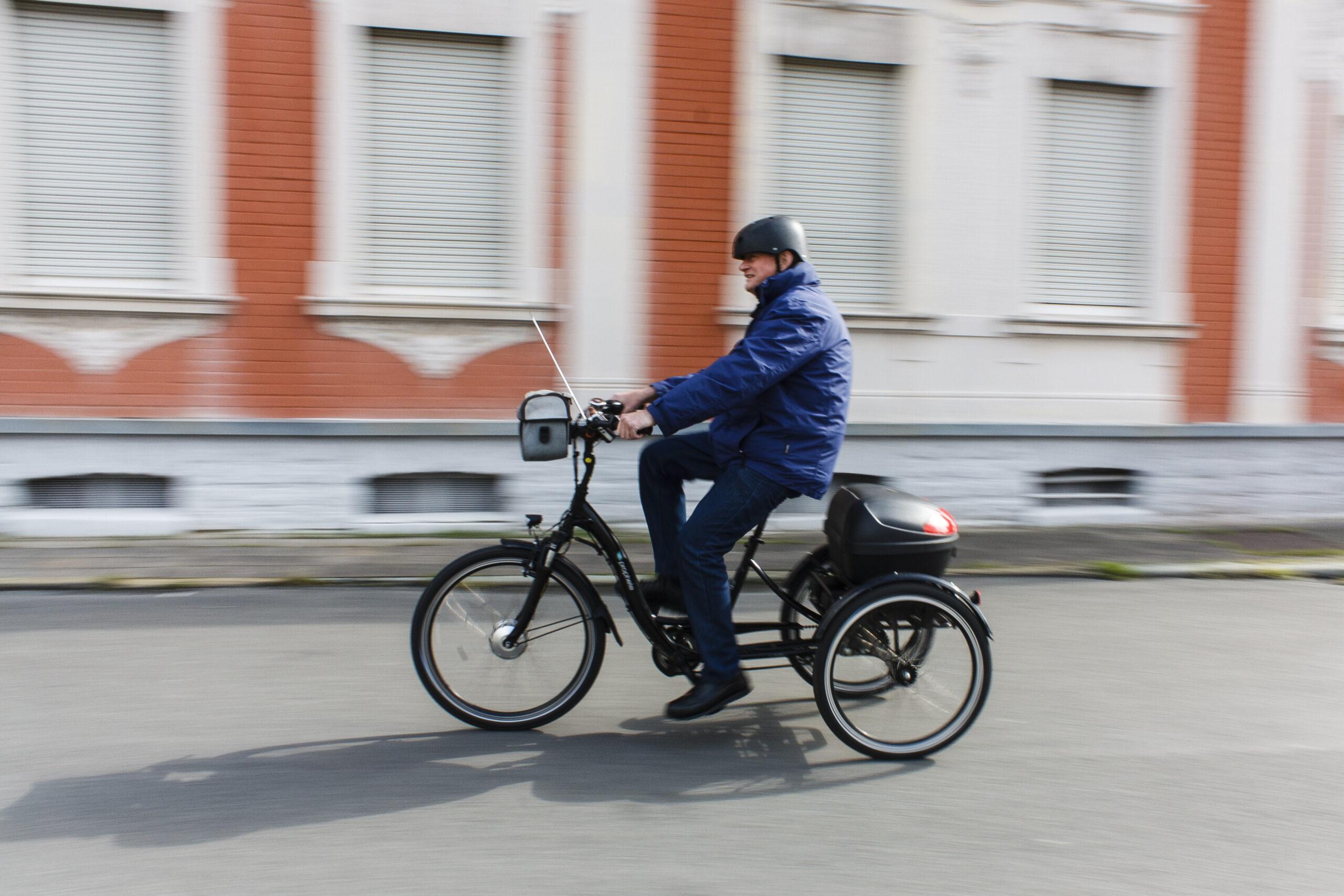 Foto Wolfgang Quakennack auf deinem Dreirad