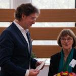 LAG Geschäftsführer Dr. Willibert Strunz und die Vorsitzende Frau Geesken Wörmann