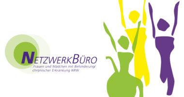 Logo Netzwerkbüro mit Silhouetten