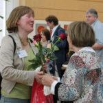 Doris Rüther (Behindertenbeauftragte Münster) und Geesken Wörmann.
