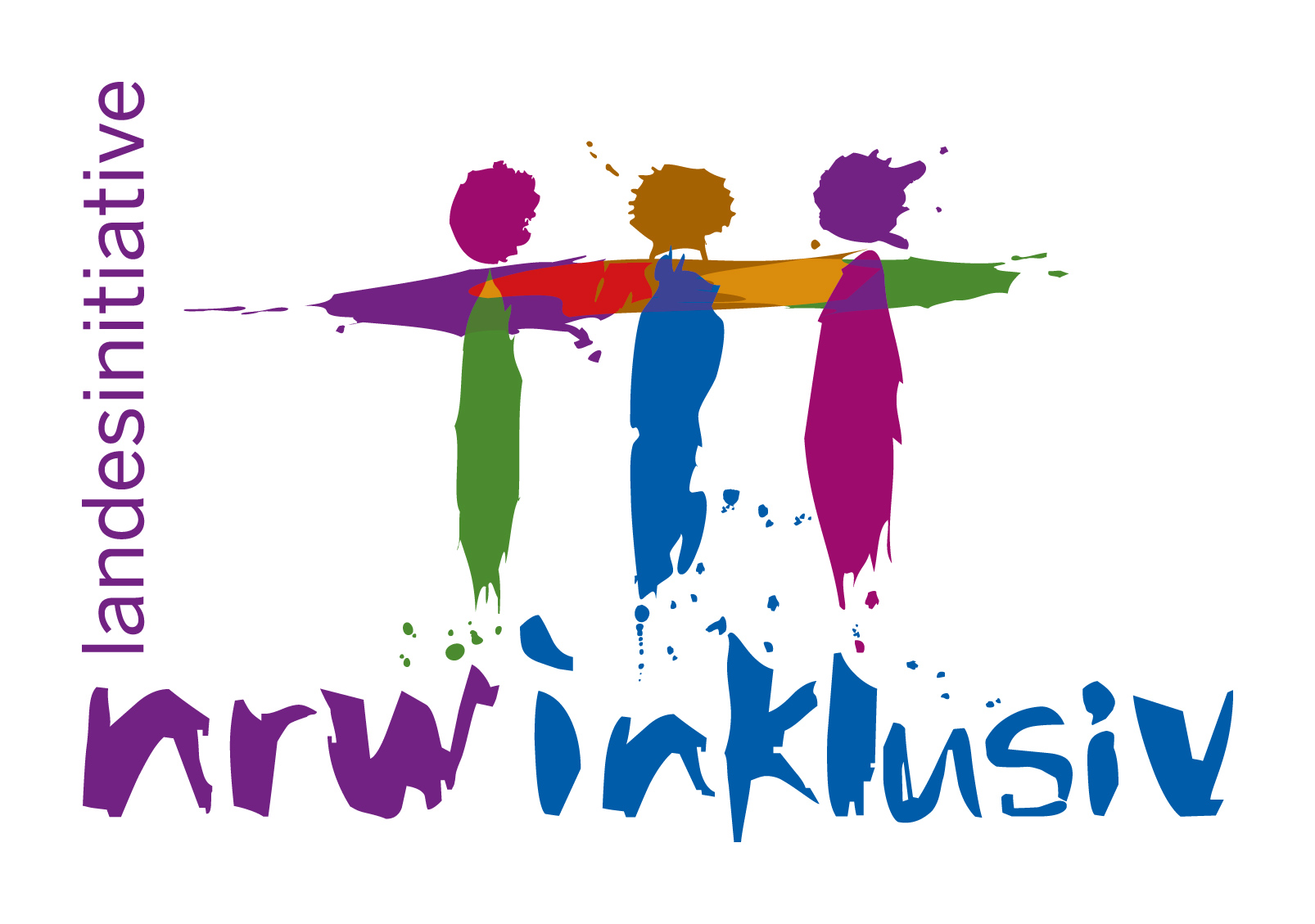 Logo Landesinitiative NRW inklusiv