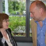 Vorsitzende der LAG Geesken Wörmann und Helmut Draber vom MAIS.