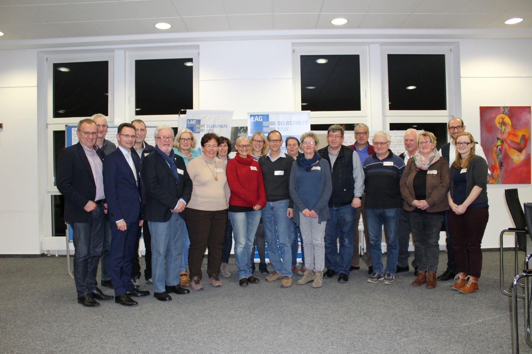 Die Teilnehmer*innen des Workshops in Ascheberg