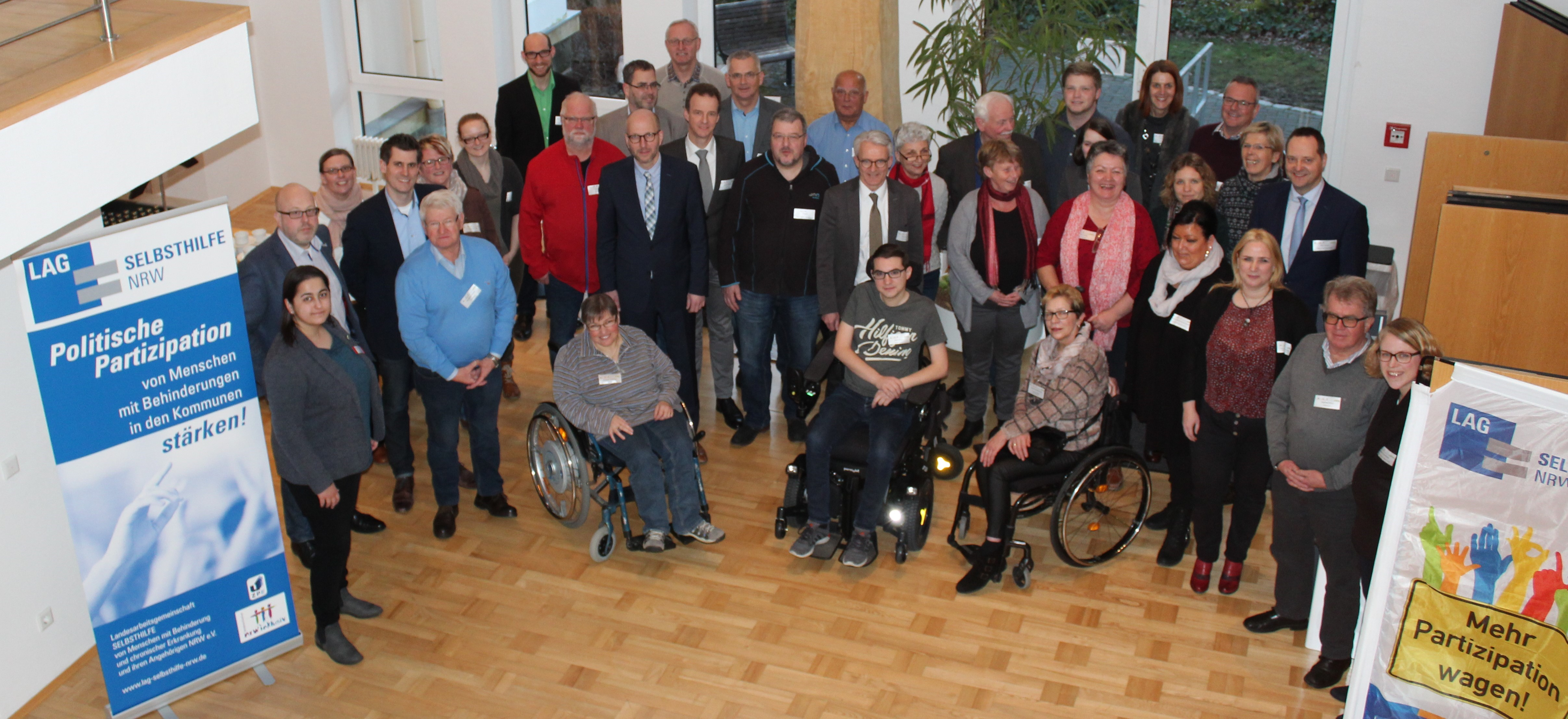 Die Teilnehmer*innen des Workshops in Drolshagen, Olpe und Wenden