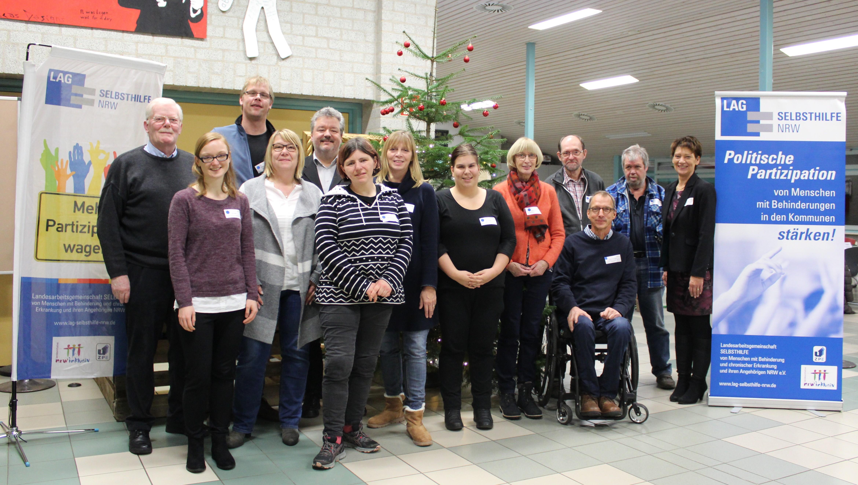 Teilnehmer*innen des Workshops in Nottuln