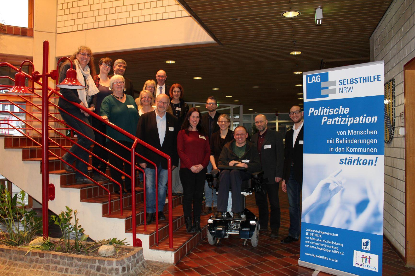 Teilnehmer*innen des Workshops in Lennestadt