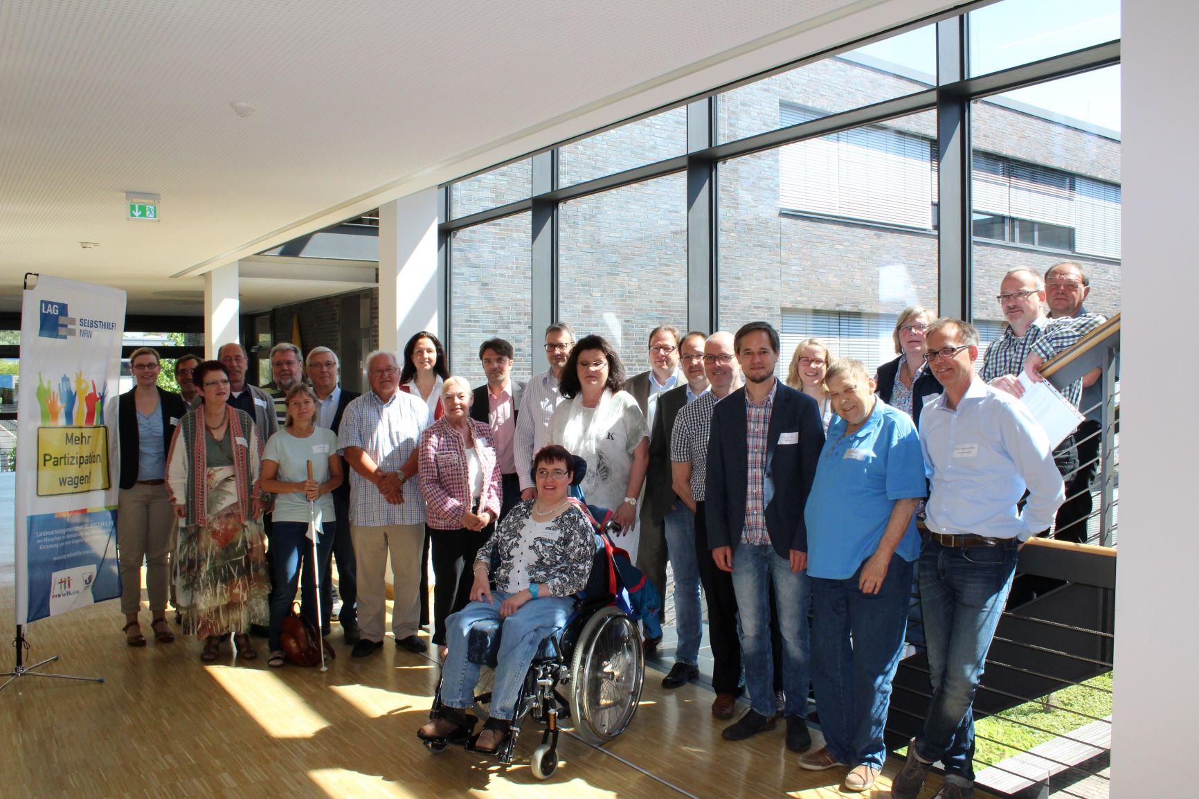 Teilnehmer*innen des Workshops in Velbert