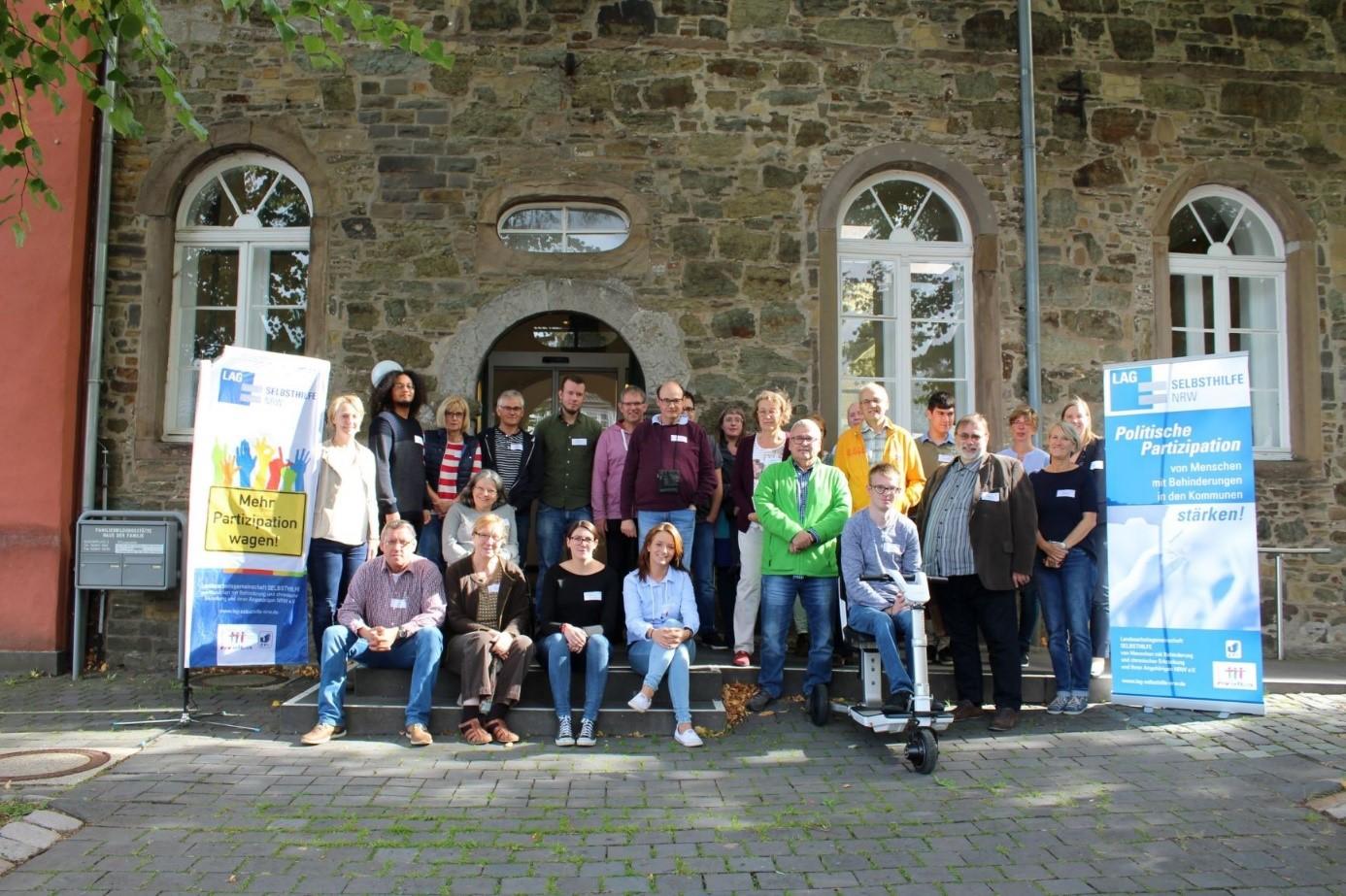 Teilnehmer*innen des Workshops in Wipperfürth