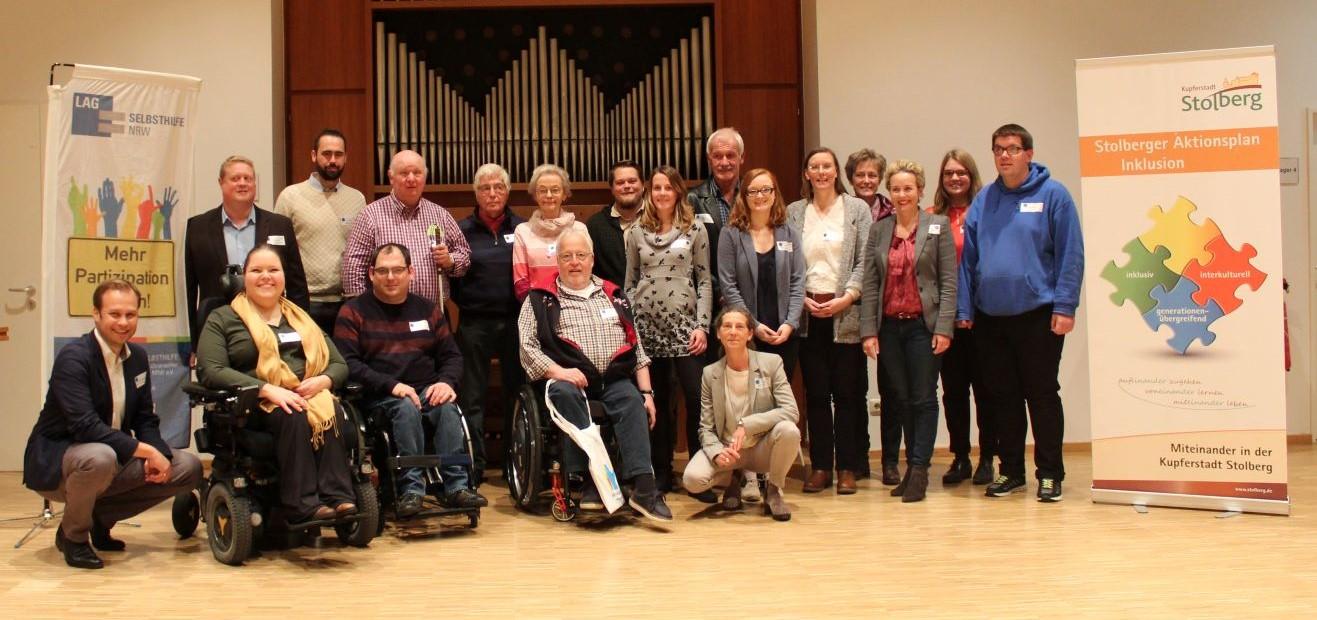 Teilnehmer*innen des Workshops in Stolberg
