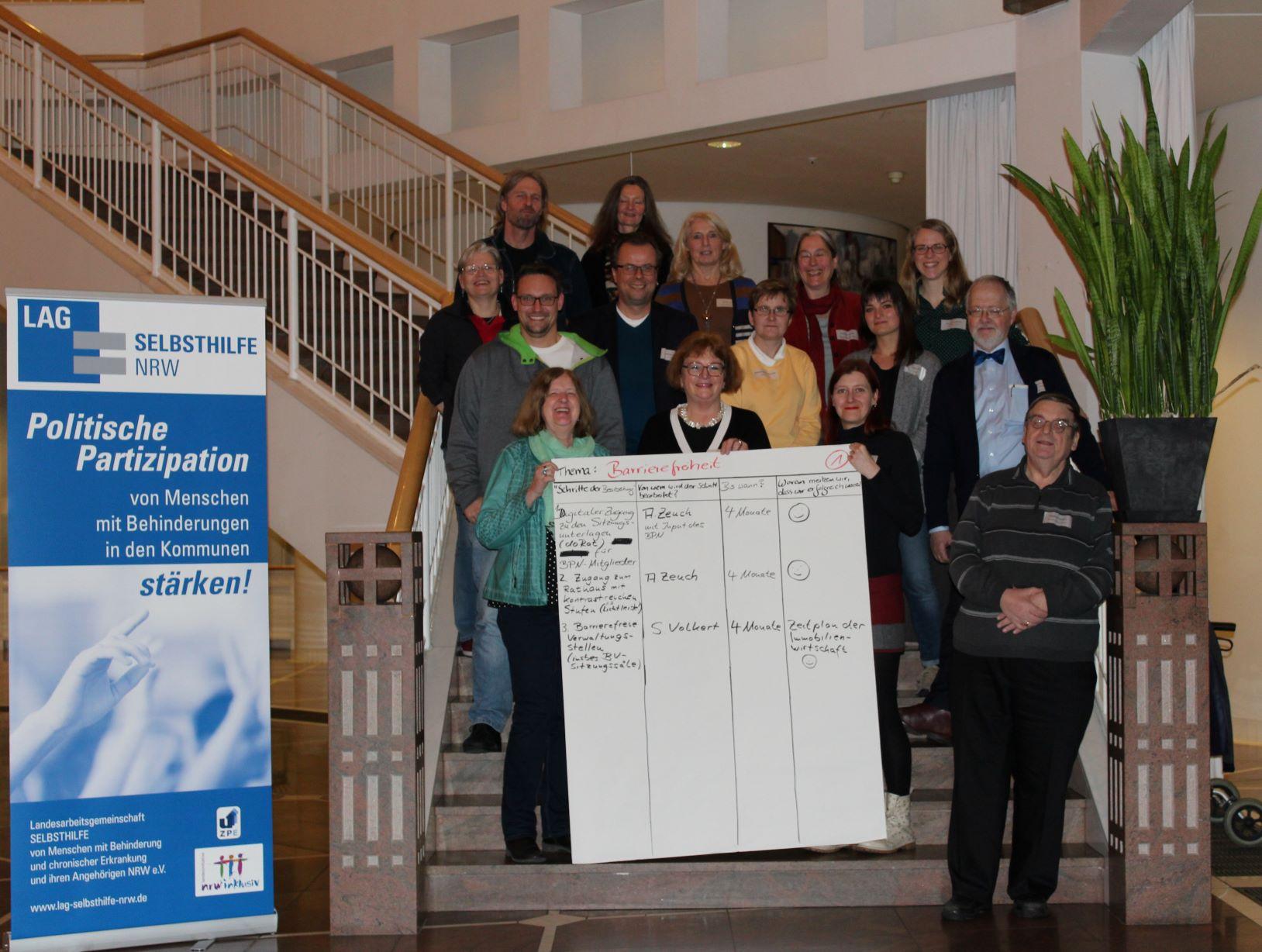 Teilnehmer*innen des Workshops in Dortmund