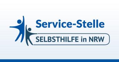 Logo der Service-Stelle Projektförderung für Landesorganisationen der Selbsthilfe in NRW.