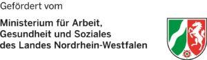 Logo des Ministerium für Arbeit, Gesundheit und Soziales des Landes NRW