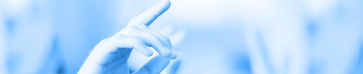 Bild von einer Kinder-Hand, die sich meldet.